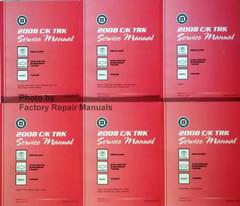 2008 Chevy Tahoe Suburban Avalanche - GMC Yukon Denali - Cadillac Escalade CK9-Trk Service Manual  Volume 1, 2, 3, 4, 5, 6
