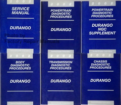 2002 Service Manual Durango Main Service Manual 4 Diagnostics Manuals, NGC Supplement