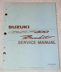 1991 Suzuki Bandit GSF400 Service Manual GSF400M Motorcycle Factory Shop Repair