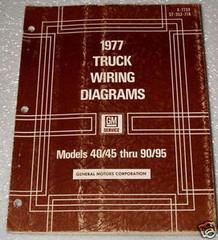 1977 Chevy and GMC Medium, Heavy Duty Truck, Bus Wiring Diagrams Manual
