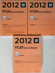 2012 GM P/Car Chevy Cruze Factory Service Manual Volume 1, 2 & 3