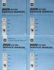 2009 Enclave, Traverse, Acadia & Outlook Service Manuals