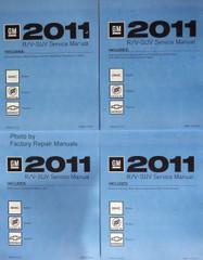 2011 Buick Enclave Chevy Traverse GMC Acadia Service Manuals RV Platform