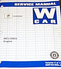 2005 Buick LaCrosse & Allure Factory Service Manual Shop Repair Set