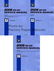 2009 WB-Car Buick LaCrosse/Allure Service Manual Volume 1, 2, 3