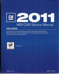 2011 Buick LaCrosse Service Manual Set