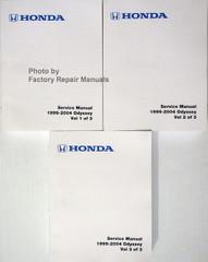 Honda Service Manual 1999-2004 Odyssey Volume 1, 2, 3