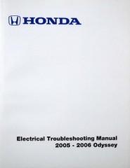 2005 2006 Honda Odyssey Electrical Troubleshooting Manual