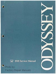 1998 Honda Odyssey Factory Service Repair Manual