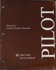 Honda 2003-2004 Service Manual Pilot Front View