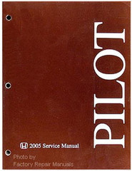 Honda Pilot 2005 Service Manual