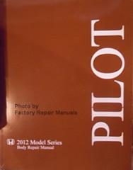 2012 Series Honda Pilot Body Repair Manual
