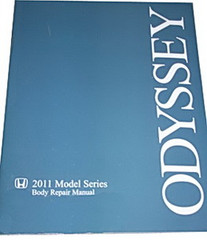2011 2012 Honda Odyssey Body Repair Manual