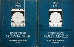 1998 Ford Explorer Mountaineer Workshop Manual Volume 1, 2