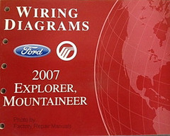 2007 Ford Explorer Sport Trac Electrical Wiring Diagrams ...