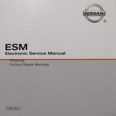 2009 Nissan 370Z ESM Electronic Service Manual