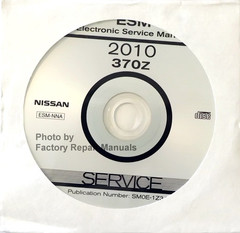 2010 Nissan 370Z Electronic Service Manual