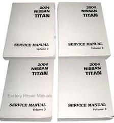 2004 Nissan Titan Factory Shop Service Manual