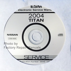 2004 Nissan Titan Electronic Service Manual