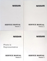 2005 Nissan X-Trail Factory Service Manual 4 Volume Set