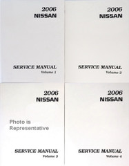 2006 Nissan X-Trail Service Manuals