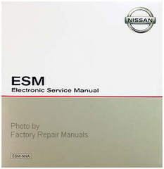 2003 Nissan Frontier Electronic Service Manual ESM