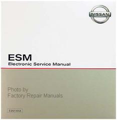 2001 Nissan Frontier Factory Service Manual Original Shop Repair CD