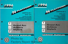 1996 GM N Platform Grand Am Achieva Skylark Service Manual