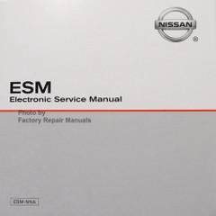 2012 Nissan Versa Sedan Original Electronic Service Manual CD
