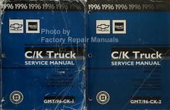 1996 Chevrolet Truck GMC Truck C/K Truck Service Manual Volume 1 and 2