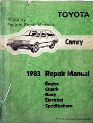 1983 Toyota Tercel Factory Service Manual Original Shop Repair Factory Repair Manuals
