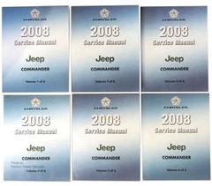 2008 Jeep Commander Service Manual Volume 1, 2, 3, 4, 5, 6