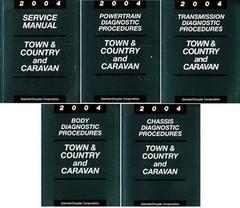 2004 Service Manual Town & Country and Caravan