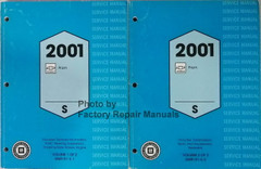 2001 Chevrolet Prizm Service Manual Volume 1, 2