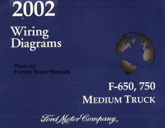 2002 Wiring Diagrams Ford F-650, 750 Medium Truck