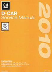 2010 Cadillac CTS and CTS-V Service Manuals