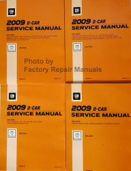 2009 GM Cadillac CTS / CTS-V Service Manual Volume 1, 2, 3, 4