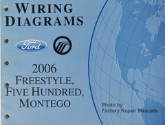 Wiring Diagrams Ford Mercury 2006 Freestyle, Five Hundred, Montego