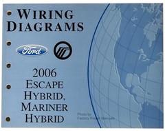2006 Ford Escape Hybrid, Mercury Mariner Hybrid Electrical Wiring Diagrams