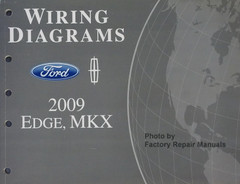 Wiring Diagrams 2009 Ford Edge, MKX