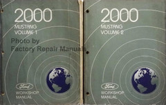 2000 Ford Mustang Electrical Wiring Diagrams Original Factory Repair Manuals