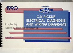 1990 Chevrolet Trucks C/K Pickup Electrical Diagnosis and Wiring Diagrams