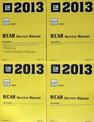 2013 Chevy Volt Service Manuals GM RN Platform