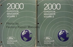 2000 Ford Expedition Lincoln Navigator Workshop Manuals Volume 1, 2