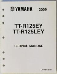 2009 Yamaha TT-R125E TT-R125LE Factory Service Manual TTR125EY TTR125LEY Repair