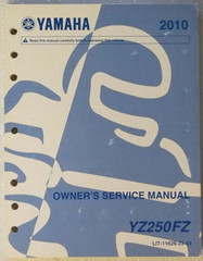 Yamaha 2010 Owner's Service Manual YZF250FZ