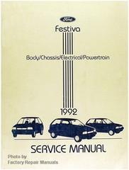 1992 Ford Festiva Service Manual