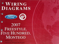Wiring Diagrams Ford Mercury 2007 Freestyle, Five Hundred, Montego