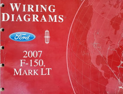 Wiring diagrams Ford Lincoln 2007 F-150, Mark LT