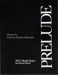 Honda Prelude 1992 Model Series Body Repair Manual